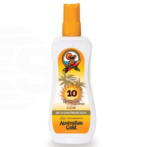 australian gold spf 10 spray